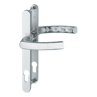 Нажимной гарнитур HOPPE Liege Льеж для дверей толщиной 67-72 мм E-92 мм цвет белый