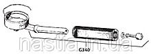G340 Холдер без сита, Gaggia