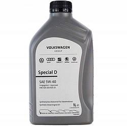 Оригинальное моторное масло VAG Special Plus D 5W-40 1л (GS55505M2)