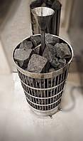 Электрическая каменная печь для сауны, каменка электрическая, электросауна нержавейка  4,5 кВт