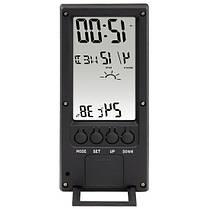 Термометр/гигрометр HAMA TH 140 с индикатором погоды black артикул 00186365, фото 2