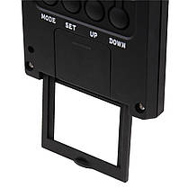 Термометр/гигрометр HAMA TH 140 с индикатором погоды black артикул 00186365, фото 3