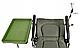 Карповое кресло Elektrostatyk с подлокотниками и столиком (F5R ST/P), фото 6