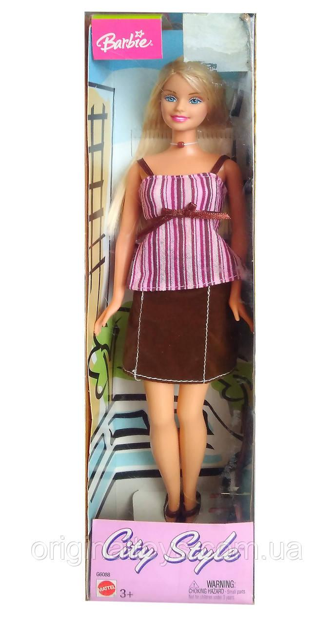 Колекційна лялька Барбі Міський стиль Barbie City Style 2003 Mattel G6088