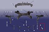 Втулка сайлентблока рычага переднего Chery Amulet / Forza / Karry / Tiggo 2, фото 2