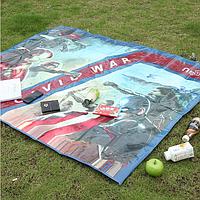 Пляжный коврик для пикника водонепроницаемый 250см*120см