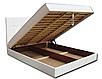 Мягкая кровать Магнолия 160 Вика (мебельная ткань), фото 4