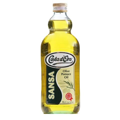 Олія оливкова Costa d'Oro Sansa 1л, 8шт/ящ 50151