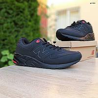 Мужские кроссовки в стиле New Balance 999 черные с красным великаны, фото 1