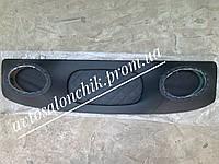 Акустическая задняя полка под колонки ВАЗ 2101 2103 2105 2106 2107 черная ЛЮКС ромб