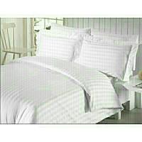 Качественный комплект постельного белья семейка, белый