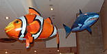 Летающая рыба Air Swimmers,рыба Акула - летающие игрушки, фото 4