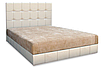 Мягкая кровать Магнолия 180 Вика (мебельная ткань), фото 4