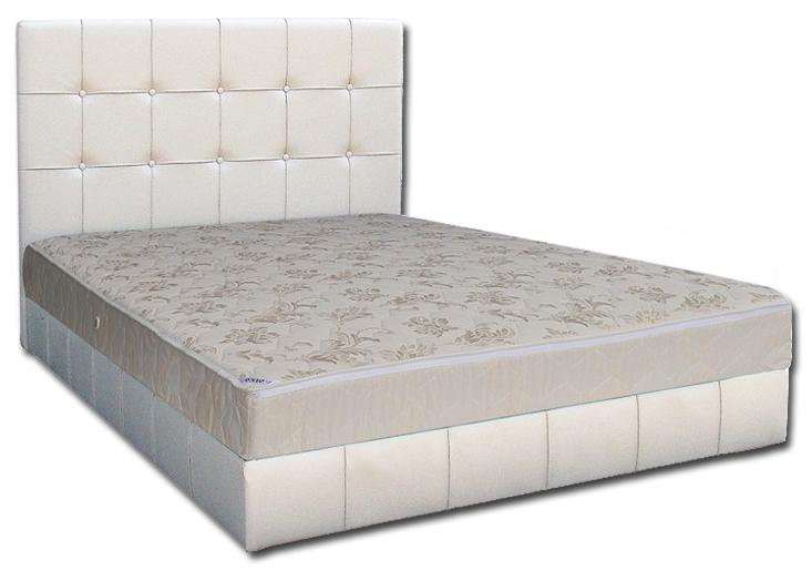 Мягкая кровать Магнолия 180 Вика (мебельная ткань)