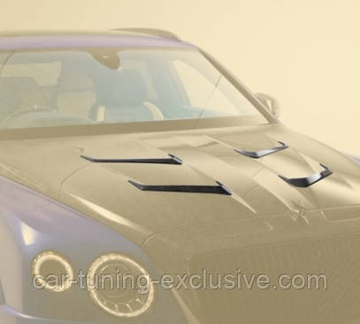 MANSORY air outtake engine bonnet 2 splitter for Bentley Bentayga