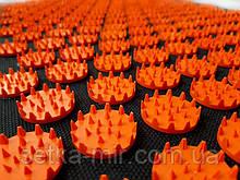 Коврик массажно-аккупунктурный mini 32х21 см Оранжевые фишки