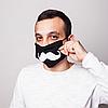 """Многоразовая защитная маска """"Усы"""" + 50 фильтров, фото 5"""