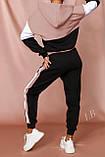 Женский спортивный костюм Турция, размеры норма, штаны+толстовка р.42-44,46-48 Код 807L, фото 9