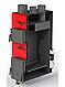 Теплогенератор Dragon ТТГ-РТ 35 кВт (6-2мм) твердотопливный воздушного отопления из котловой стали, фото 2