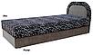 Мягкая кровать Ривьера 90 Вика (матрасная ткань), фото 3