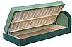 Мягкая кровать Ривьера 90 Вика (матрасная ткань), фото 4