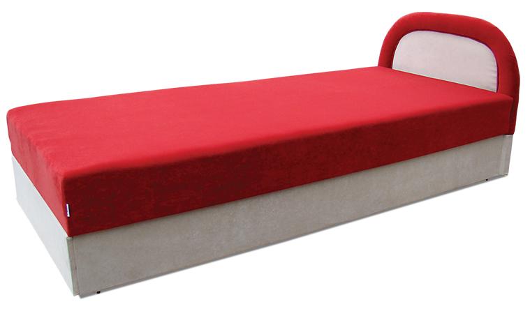 Мягкая кровать Ривьера 90 Вика (матрасная ткань)