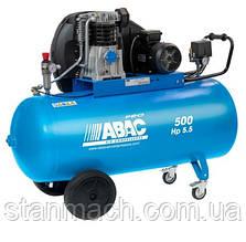 Компресор ABAC PRO A49 500FT5.5 500л, 400/3/50, 595л/х, 11бар, 4кВт, 1400об/хв, 95дБ, 191кг