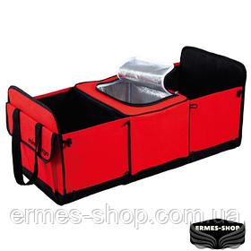 Автомобильный органайзер | Термосумка в багажник автомобиля Trunk Organizer & Cooler