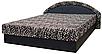Мягкая кровать Ривьера 160 Вика (матрасная ткань), фото 2