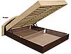 Мягкая кровать Ривьера 160 Вика (матрасная ткань), фото 3