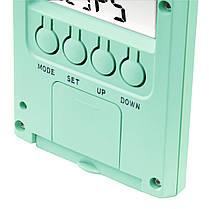 Термометр/гигрометр HAMA TH 140 с индикатором погоды mint артикул 00176916, фото 3