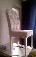 Стул для кафе Хит 3 в ткани. Стулья из дерева и ткани. Мягкая мебель для ресторанов и кафе