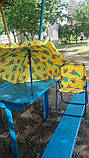 Набор мебели для пикника детский: столик с зонтом и 2 стула, фото 2