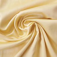 Сатин Люкс жовтий однотонний, ш. 240 см