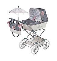 Коляска для кукол раскладная с сумкой и зонтиком 82031