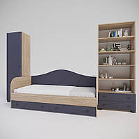 Комплект подростковой мебели Х-Скаут-13 графит мат