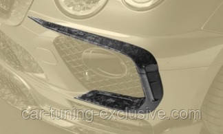 MANSORY front splitter for Bentley Bentayga