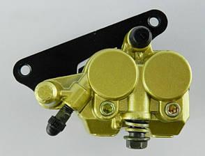 Колодки тормозные передние квадроцикла под суппорт с левым ухом, фото 3