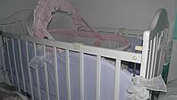 Оболденная нежная нужная удобная новая люлька кроватка для ребёнка новорожденного