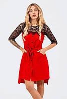 Вечернее женское платье Adelin, красный