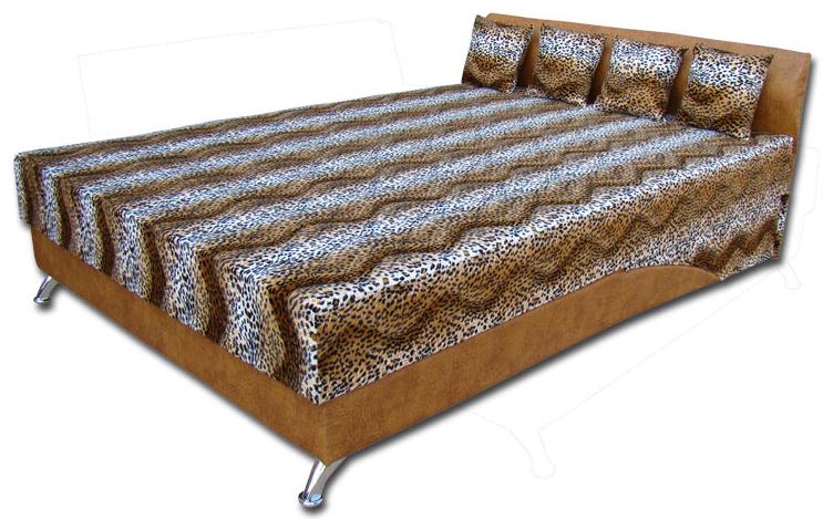 Мягкая кровать Сафари 140 Вика