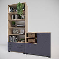 Комплект подростковой мебели Х-Скаут-15 графит мат