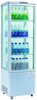 Фото Холодильный профессиональный шкаф FROSTY RT235L стекло с 4-х сторон