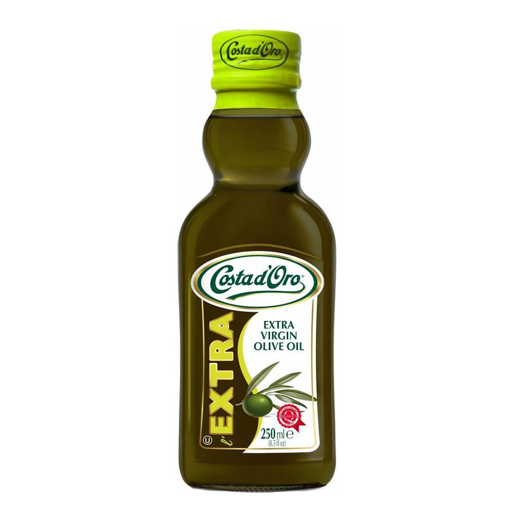 Олія оливкова Costa d'Oro Extravergine 0,25л, 12шт/ящ 09564