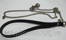 Повідець для собак №1 з карабіном (нікель), 120 см