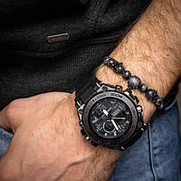 Мужские спортивные часы Casio G-Shock G-Steel Black копия