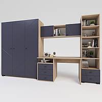 Комплект підліткової мебелі Х-Скаут-19 графіт мат