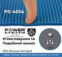 Коврик для йоги и фитнеса Power System  PS-4014 FITNESS-YOGA MAT Blue, фото 2