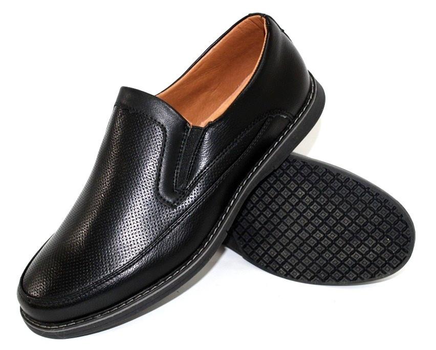 Туфли для мальчика в черном цвете 36-41