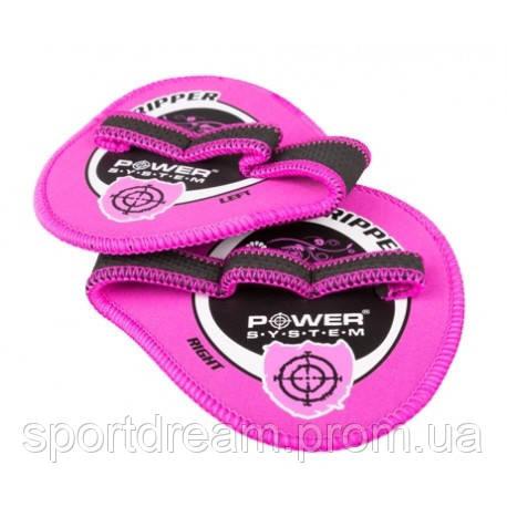 Накладки на ладони Power System Gripper Pads PS-4035 XL Pink